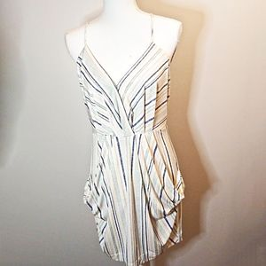 BCBGeneration Striped Racer back Dress M